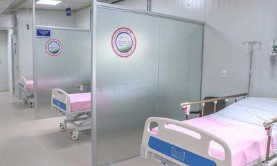 Con último pabellón de contingencia sólo sumaron 173 camas al sistema de Salud