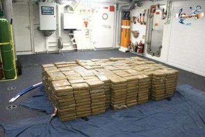 Así aseguró Semar más de una tonelada y media de cocaína en Manzanillo