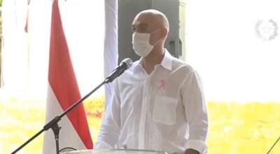"""""""No estamos fuera de peligro"""", dice Mazzoleni y afirma que sistema sanitario mejoró mucho"""
