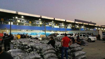 Encuentran más cocaína en los contenedores de carbón