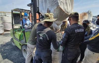 En Villeta encuentran 500 kilos más de cocaína
