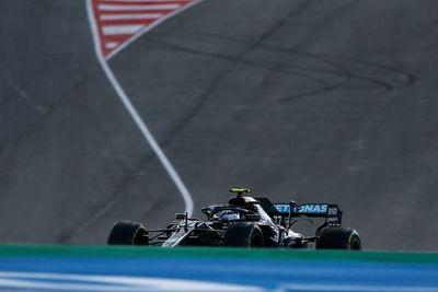 Valtteri Bottas fue el más rápido en el primer libre