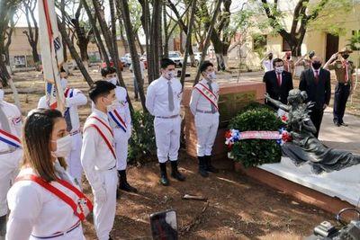 Conmemoran 89 años de la trágica manifestación estudiantil en defensa del Chaco