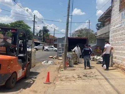 Cadáveres encontrados en un contenedor en Asunción aumentan a 5