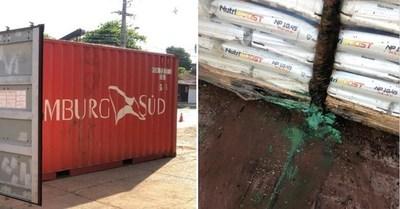 Hallan seis cadáveres en un contenedor de fertilizantes que llegó de Serbia