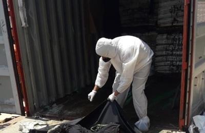 Al menos 6 cadáveres fueron encontrados en un contenedor proveniente de Serbia