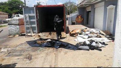 De terror: Encuentran seis cadáveres en un contenedor que venía de Serbia