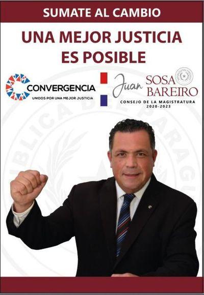 AUDIO: Abogado Juan Sosa Bareiro, candidato al Consejo de la Magistratura