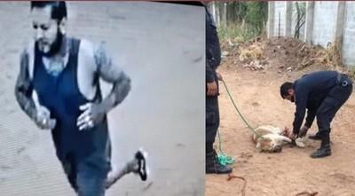 Defensa alega que el sospechoso corrió a pedir ayuda y rescatar al perro