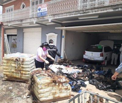 Hallan 7 cadáveres en un contenedor proveniente de Serbia
