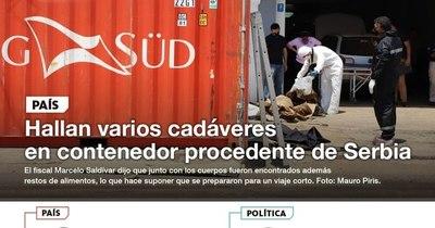 La Nación / LN PM: Las noticias más relevantes de la siesta del 23 de octubre