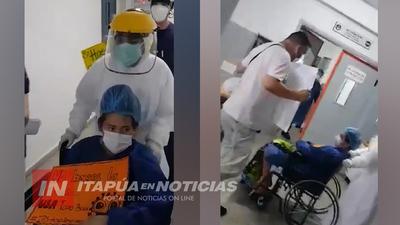 NUEVA ALTA EN UTI DEL HOSPITAL RESPIRATORIO ENCARNACIÓN
