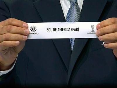 El sorteo de la Sudamericana