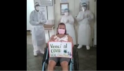 Fisioterapeuta peleó siete días contra el Covid y logró sobreponerse