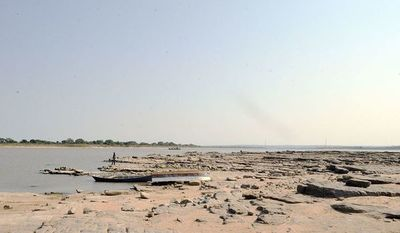 El río Paraguay volvió a bajar cuatro centímetros en Asunción