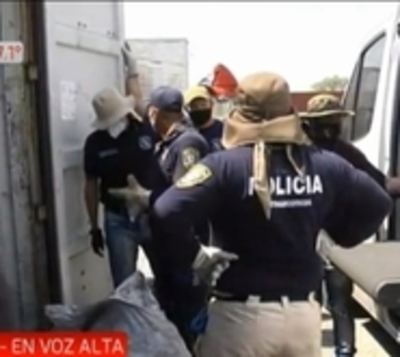Finaliza pesaje de último hallazgo de cocaína este viernes en Villeta