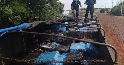 La Nación / Camión narco es interceptado por la Senad y detienen a 3 personas