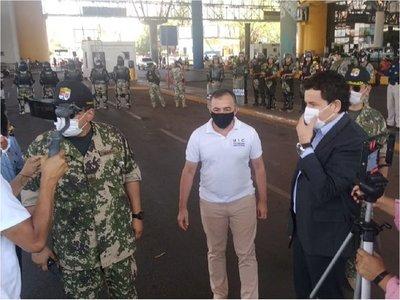 Dan inicio a operativo anticontrabando en Alto Paraná