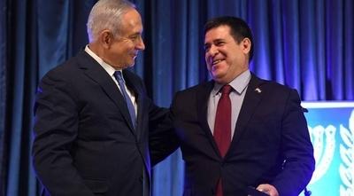HOY / Emotiva charla entre el israelí Netanyahu y Horacio Cartes