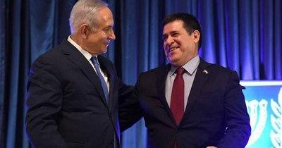 La Nación / Emotiva charla entre el premier Israelí Benjamín Netanyahu y Horacio Cartes