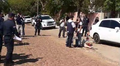 Realizan reconstrucción del homicidio de Ismael Peralta