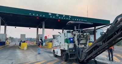 La Nación / Avanza ampliación de ruta 2 a cuatro carriles en Caaguazú