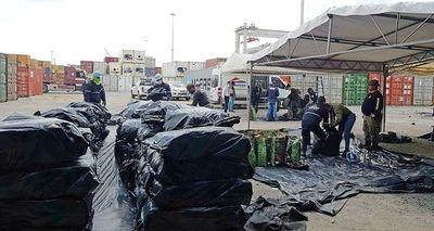 """Aduanas: """"No es posible hacer el control de todos los contenedores"""""""