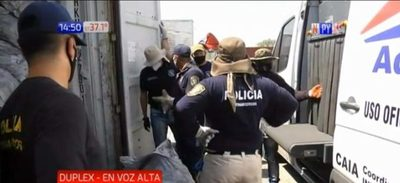 Cocaína incautada en containers ya suman  2.900 kilos