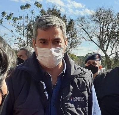 Mario Abdo se encuentra bien: dio negativo a test COVID y Dengue