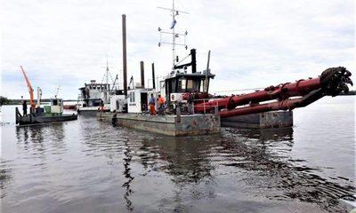 Cuatro empresas se presentaron para dragado del río Paraguay