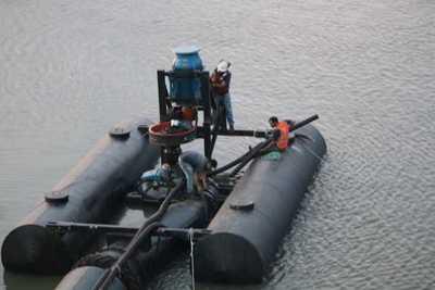 Essap concluye trabajos para garantizar producción de agua potable pese a bajante del Río Paraguay