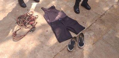 Allanan casa del detenido por maltrato a jagua'i y hallan varias evidencias que lo comprometen