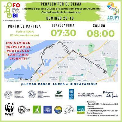 Foro de la Bicicleta apunta a movilidad sostenible en Paraguay