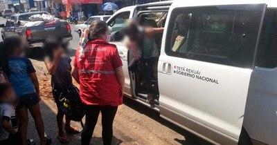 La Nación / Unos 50 menores en situación vulnerable fueron rescatados y protegidos esta semana