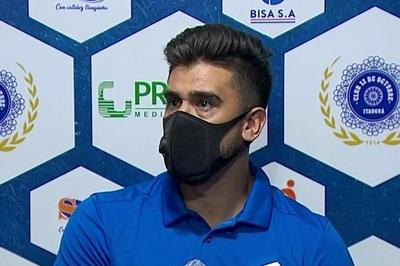 Santiago Pérez le dedica el triunfo al cuerpo técnico