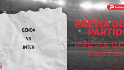 Por la Fecha 5 se enfrentarán Genoa e Inter