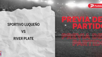 Por la Fecha 2 se enfrentarán Sportivo Luqueño y River Plate