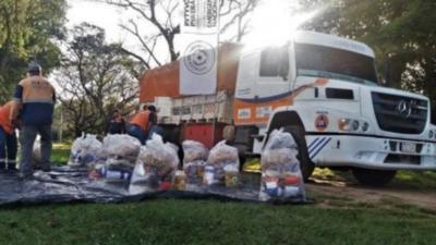Gobierno beneficia con Kits de alimentos a familias indígenas de Villa Hayes