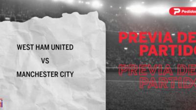 Por la Fecha 6 se enfrentarán West Ham United y Manchester City