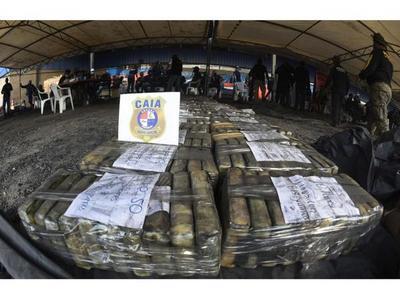 Dectectan otros 562 paquetes de cocaína en puerto de Villeta