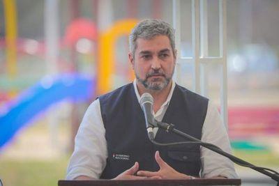 Mario Abdo dio negativo a pruebas de Covid-19 y dengue
