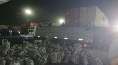 Finaliza revisión de contenedores en Villeta: cocaína incautada asciende a casi 3 toneladas