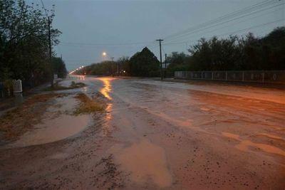 Llegó la ansiada lluvia al Chaco Central