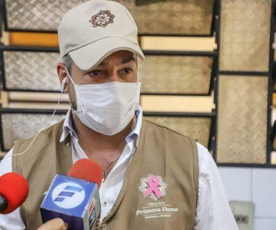 Mario Abdo dio negativo al COVID-19 y dengue, informó Mazzoleni