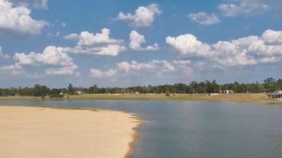 Sequía también afecta al río Tebicuary