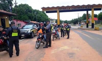 Subasta: Caminera notifica a propietarios de motocicletas •