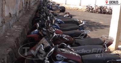 Patrulla Caminera da plazo de 30 días a infractores para retirar sus motocicletas