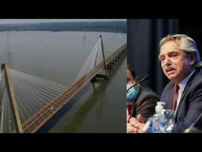 LA FRONTERA SEGUIRÁ CERRADA Y NO HABRÁ DEVALUACIÓN, DIJO FERNÁNDEZ