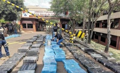HOY / Camión narco: Más de 10 toneladas de marihuana incautada en Itapúa