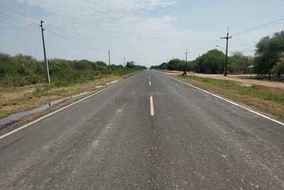 Solicitan rediseñamiento de la ruta asfaltada en Villa Choferes del Chaco